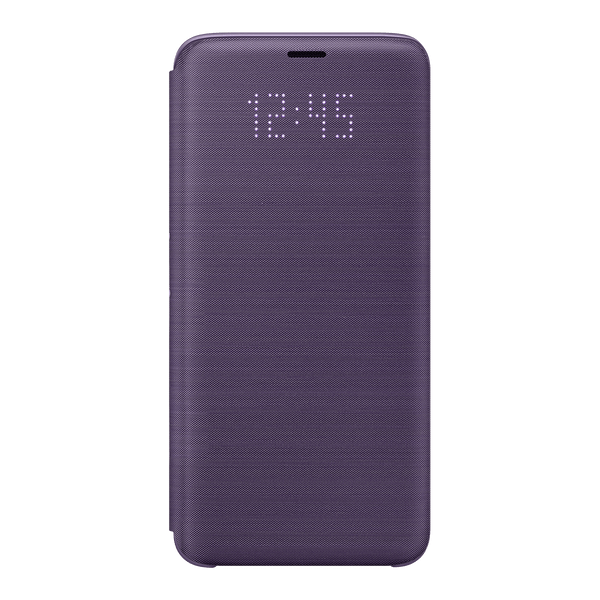 Galaxy-S9-LED-View-Cover-Violet