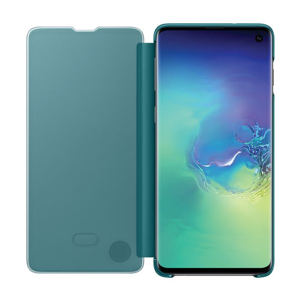 Clear-View-Cover-Green-para-S10